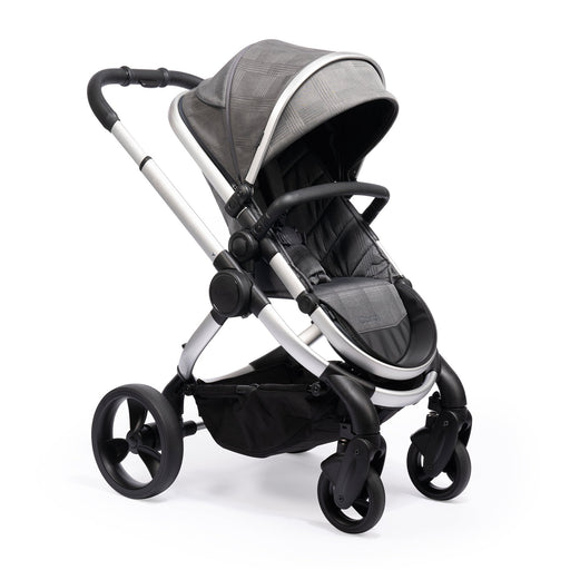 iCandy Peach - Satin/Dark Grey Check - Pushchair Expert