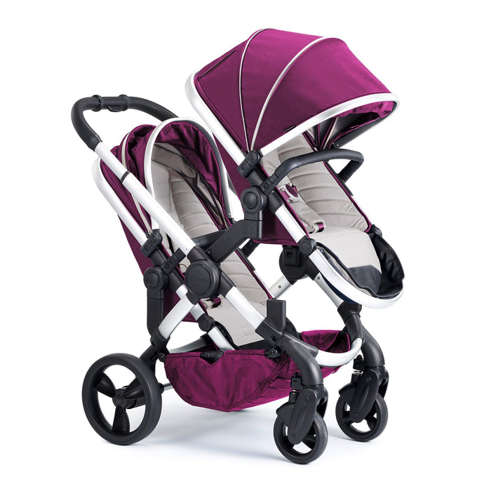 iCandy Peach Double - Satin/Damson - Pushchair Expert