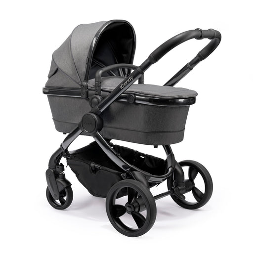 iCandy Peach - Phantom/Dark Grey Twill - Pushchair Expert