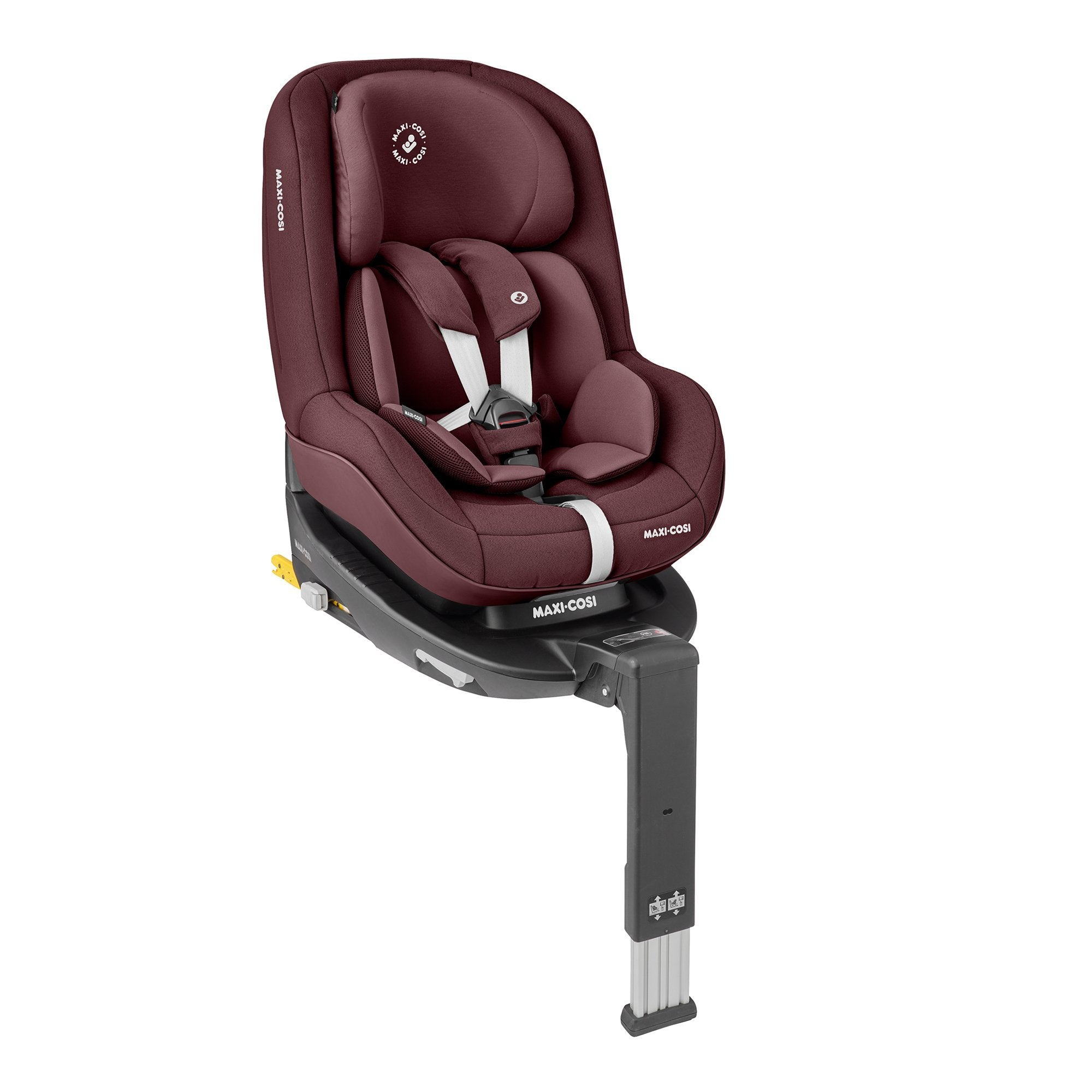 Maxi-Cosi Pearl Pro2 Car Seat - Authentic Red - Pushchair Expert