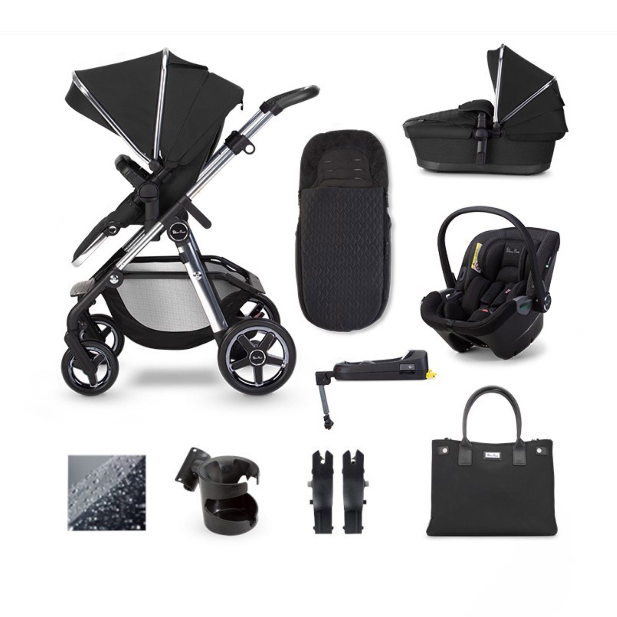 Silver Cross Pioneer 2020 Dream i-Size ISOFIX travel system bundle - Pepper