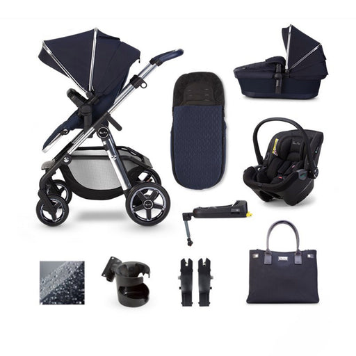 Silver Cross Pioneer 2020 Dream i-Size ISOFIX travel system bundle - Sapphire