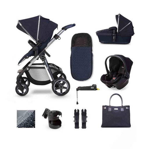Silver Cross Pioneer 2020 Simplicity Plus ISOFIX travel system bundle - Sapphire