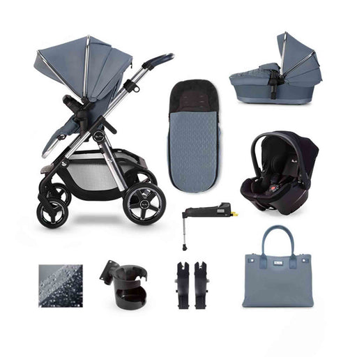 Silver Cross Pioneer 2020 Simplicity Plus ISOFIX travel system bundle - Sky