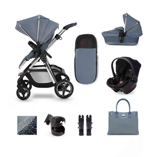 Silver Cross Pioneer 2020 Simplicity Plus travel system bundle - Sky