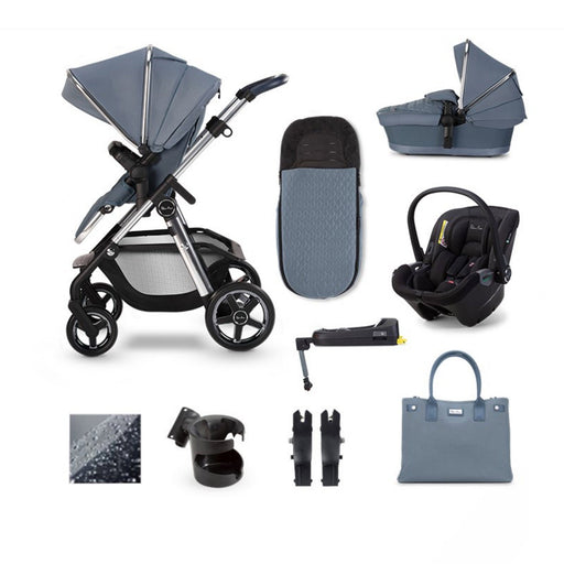 Silver Cross Pioneer 2020 Dream i-Size ISOFIX travel system bundle - Sky