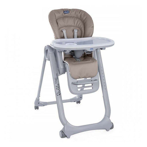 Chicco Polly Magic Relax Highchair - Cocoa - Pushchair Expert
