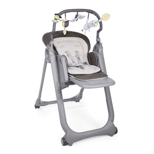 Chicco Polly Magic Relax Highchair - Graphite - Pushchair Expert
