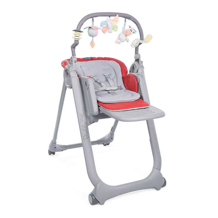 Chicco Polly Magic Relax Highchair - Scarlet - Pushchair Expert