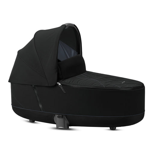 Cybex Priam Lux Carrycot - Deep Black - Pushchair Expert