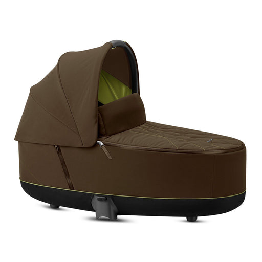 Cybex Priam Lux Carrycot - Khaki Green - Pushchair Expert