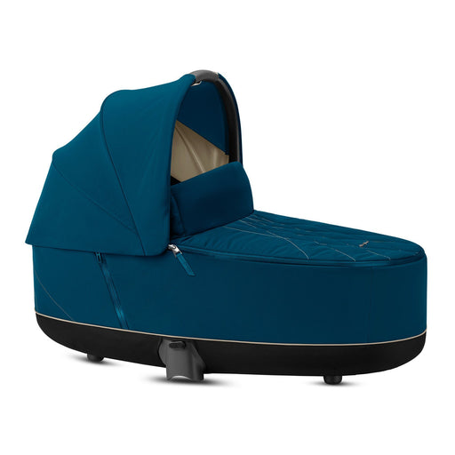 Cybex Priam Lux Carrycot - Mountain Blue - Pushchair Expert