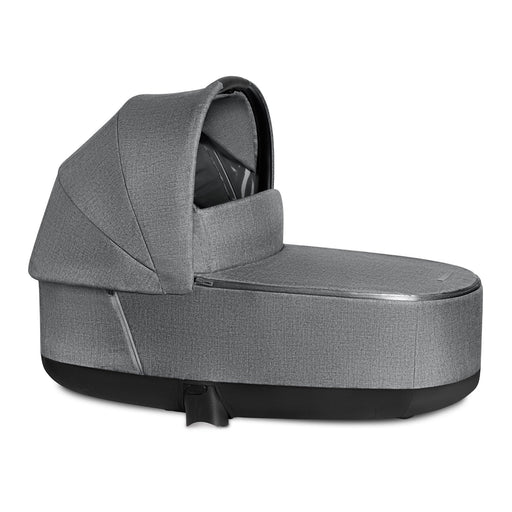Cybex Priam Lux Carrycot Plus - Manhattan Grey - Pushchair Expert