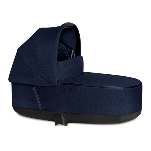 Cybex Priam Lux Carrycot Plus - Midnight Blue - Pushchair Expert