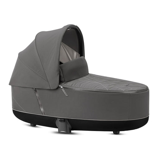 Cybex Priam Lux Carrycot - Soho Grey - Pushchair Expert