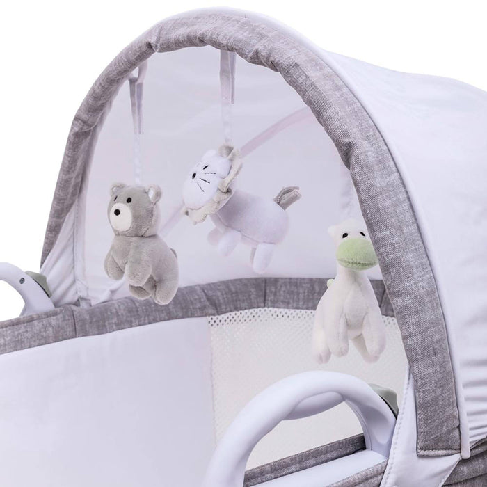 Purflo PurAir Breathable Bassinet Grey Marl - Pushchair Expert