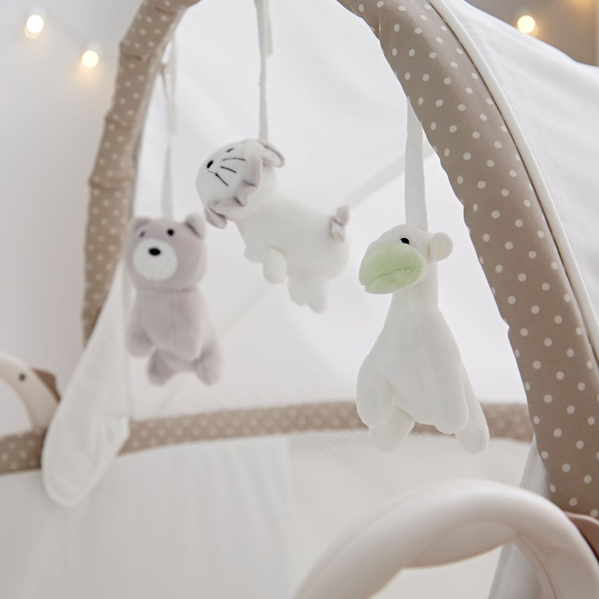 Purflo PurAir Breathable Bassinet Soft Truffle - Pushchair Expert