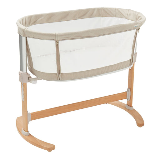 Purflo PurAir Breathable Crib Natural with FREE extra fitted sheet - Pushchair Expert