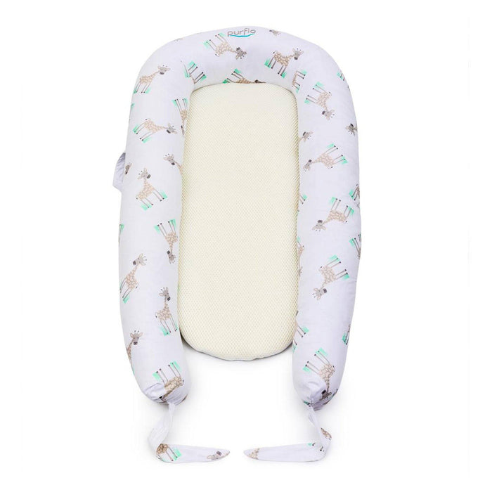 Purflo PurAir Breathable Nest Maxi Additional Cover - Giraffe - Pushchair Expert