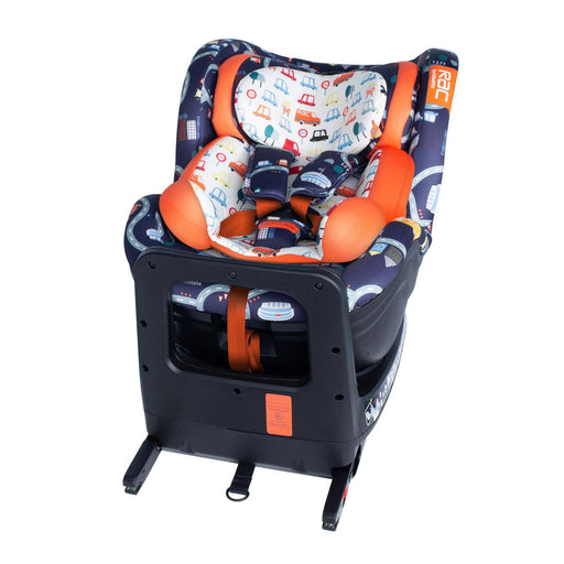 Cosatto RAC Come and Go i-Rotate i-Size Car Seat - Road Map - Pushchair Expert