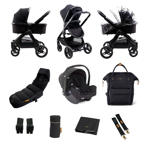 BabaBing! Raffi 3-in-1 Travel System Bundle - Black