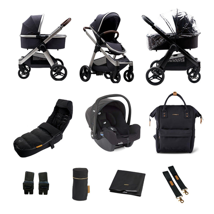 BabaBing! Raffi 3-in-1 Travel System Bundle - Grey