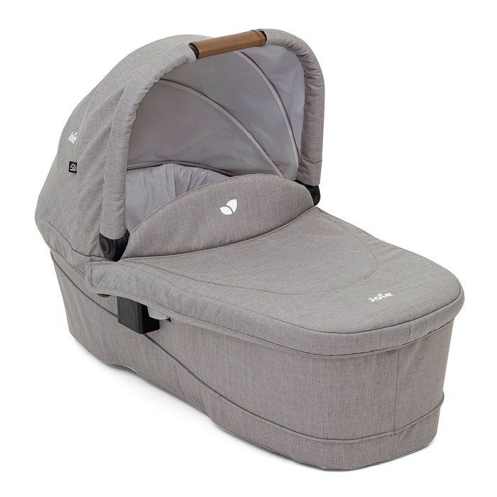 Joie Ramble XL Carrycot - Grey Flannel - Pushchair Expert