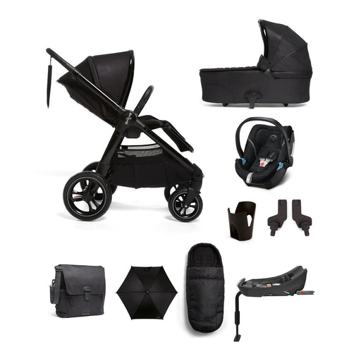 Mamas & Papas Ocarro Travel System - Complete Kit - Raven - Pushchair Expert