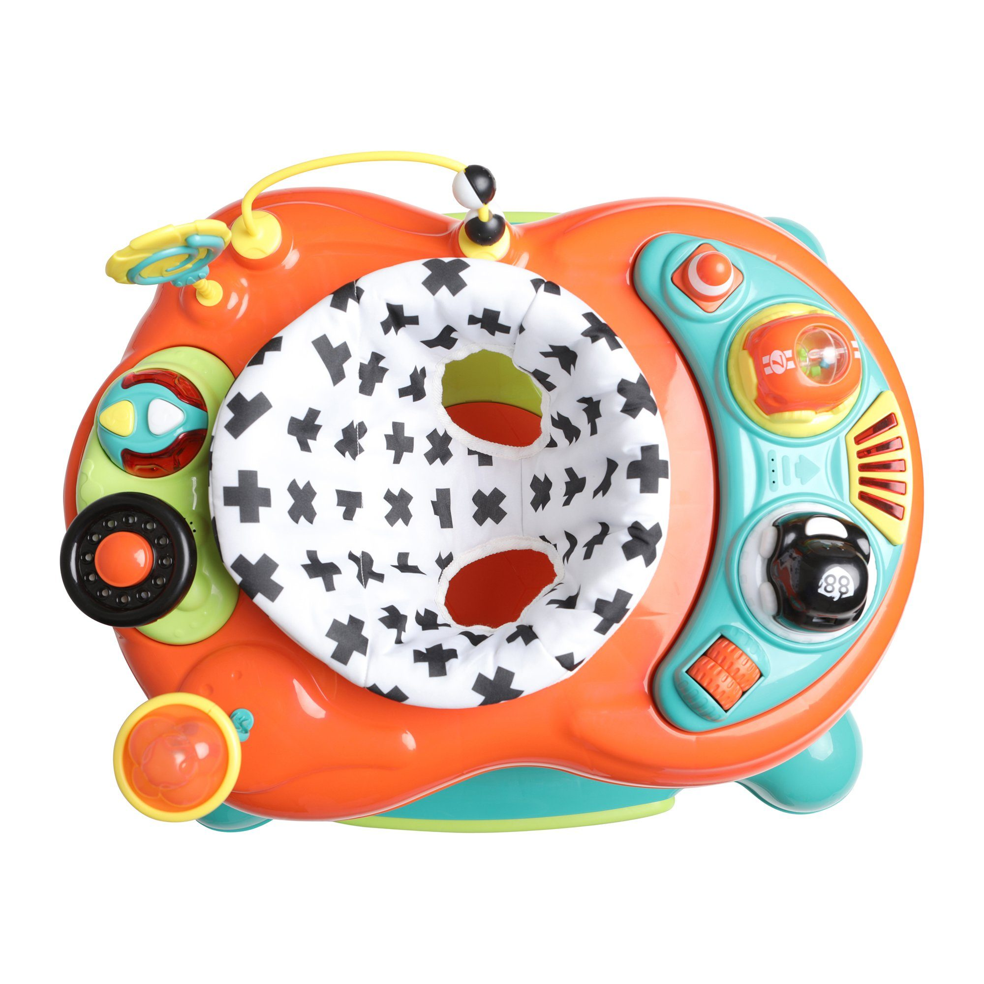 My Child Roundabout 4-in-1 Activity Walker - Citrus - Pushchair Expert