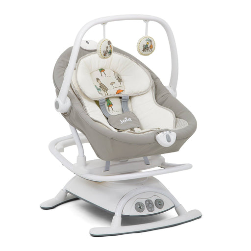 Joie Sansa 2in1 rocker - In The Rain - Pushchair Expert