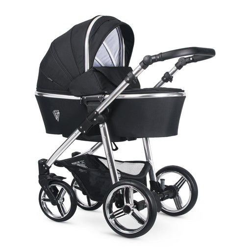 Venicci Silver 3-in-1 Travel System - Wild Black - Pushchair Expert
