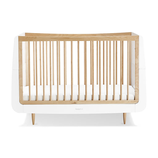 SnuzKot Skandi Cot Bed – Natural + FREE toddler rails