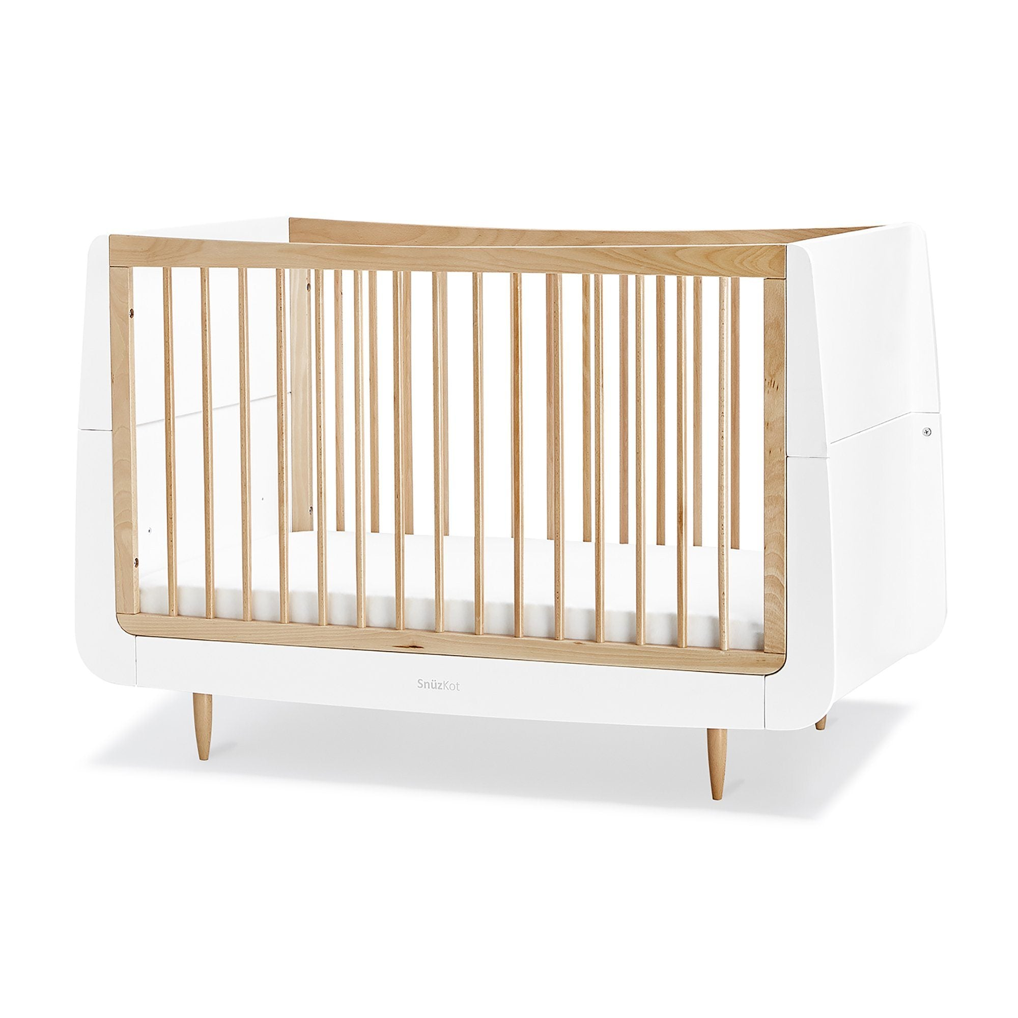 SnuzKot Skandi 2 Piece Nursery Furniture Set – Natural