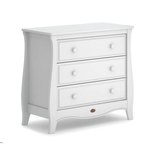 Boori Sleigh Chest of Drawers (Smart Assembly) - White