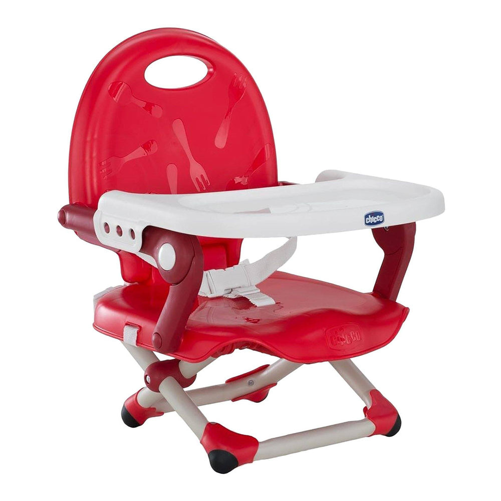 Chicco Pocket Snack booster seat - Cherry - Pushchair Expert