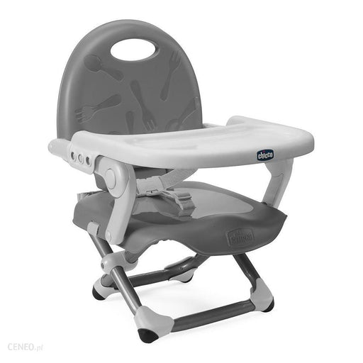 Chicco Pocket Snack booster seat - Dark Grey - Pushchair Expert