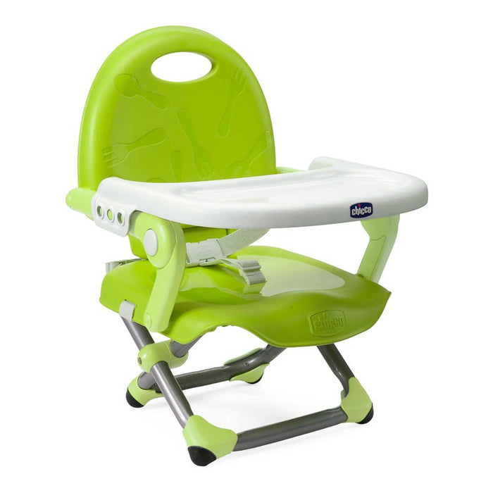 Chicco Pocket Snack booster seat - Lime - Pushchair Expert