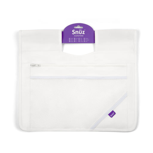 SnuzPod³ Storage Pocket - White - Pushchair Expert