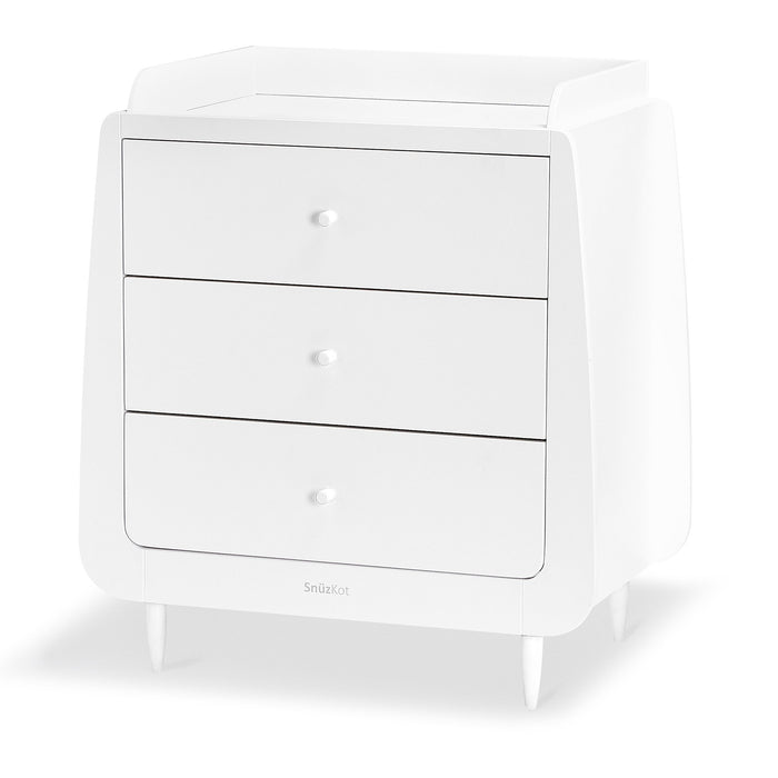 SnuzKot Skandi 2 Piece Nursery Furniture Set – White