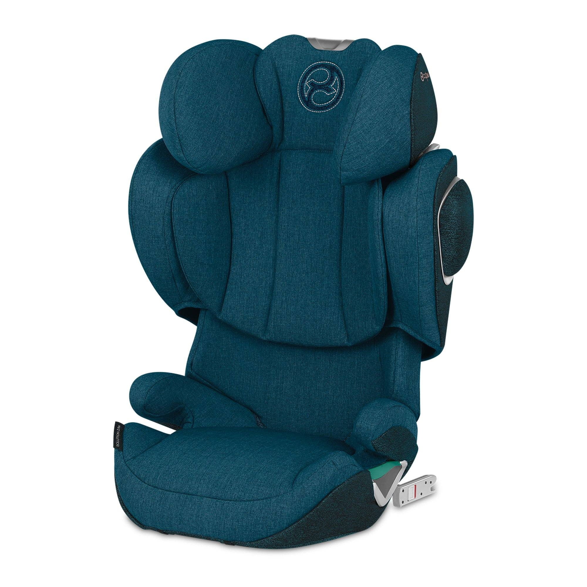Cybex Solution Z i-Fix PLUS i-Size high-back booster - Mountain Blue