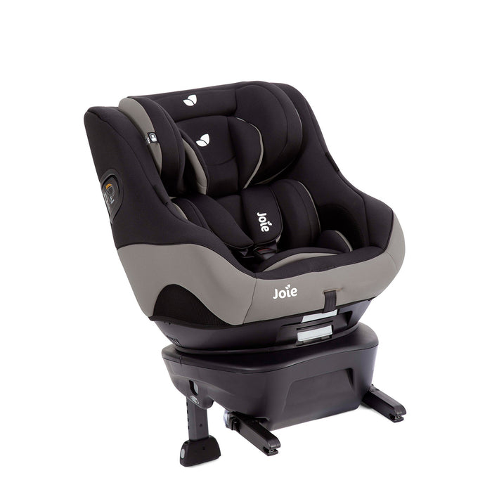 Joie Spin Safe Group 0+/1 rear-facing rotating car seat - Black Pepper - Pushchair Expert