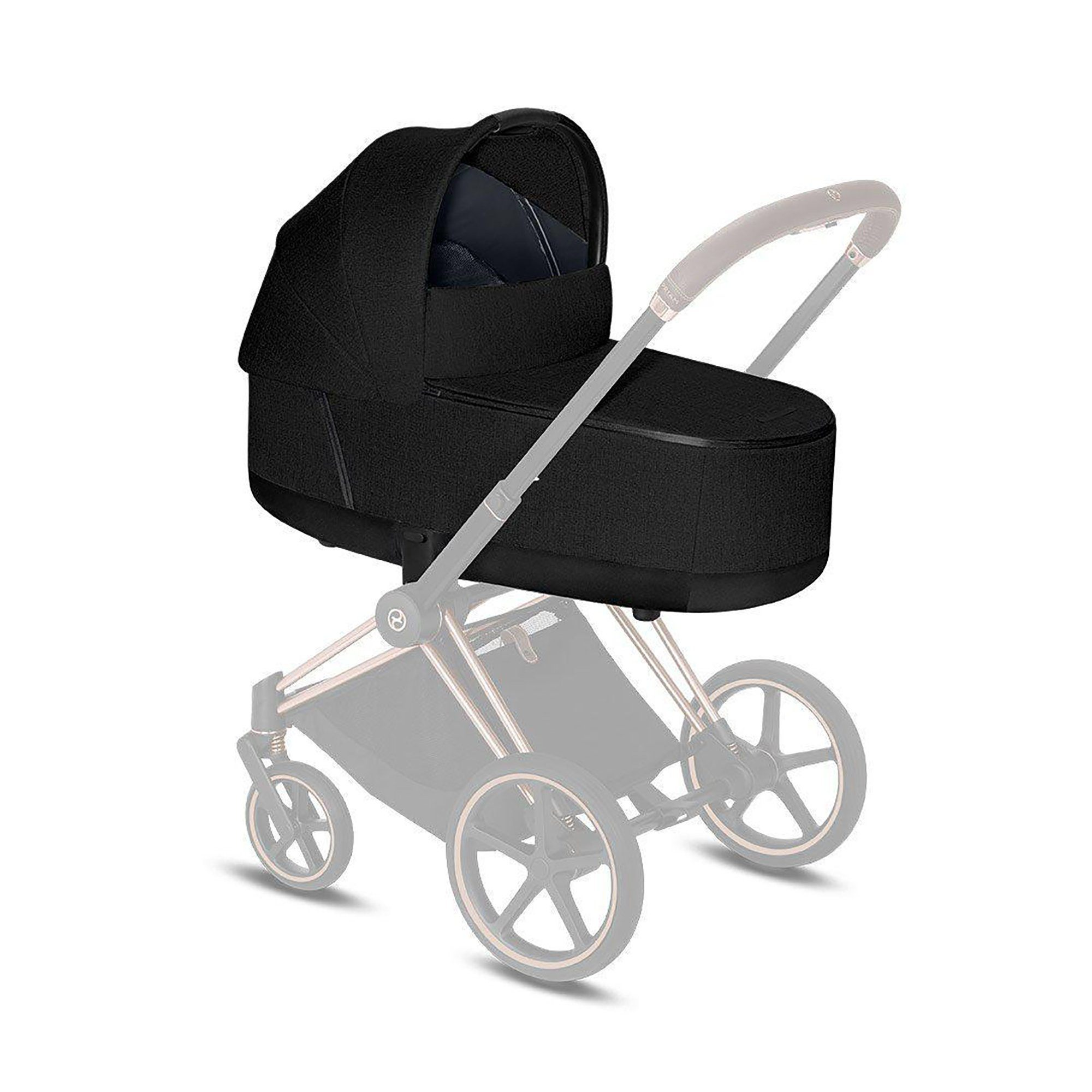 Cybex Priam LUX Carry Cot Plus - Stardust Black