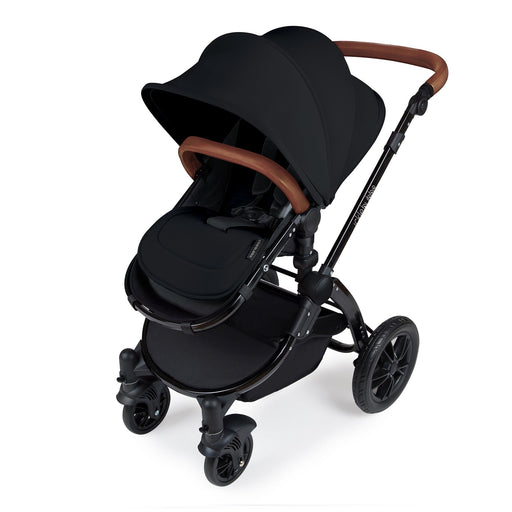 Ickle Bubba Stomp V3 2-in-1 - Black on Black - Pushchair Expert