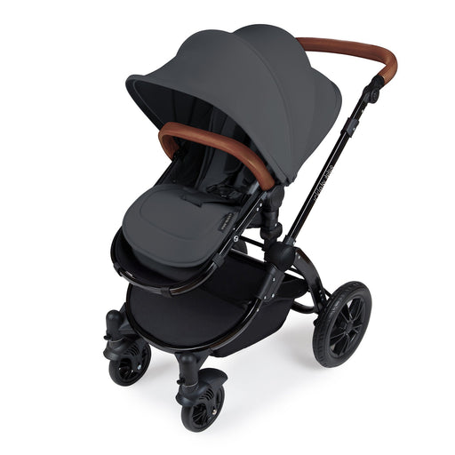 Ickle Bubba Stomp V3 2-in-1 - Graphite on Black - Pushchair Expert