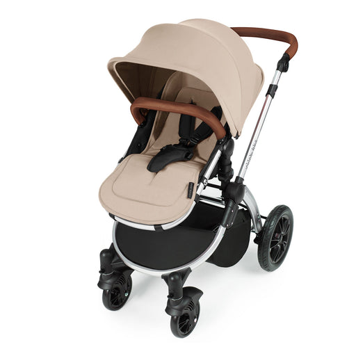 Ickle Bubba Stomp V3 2-in-1 - Sand on Silver - Pushchair Expert