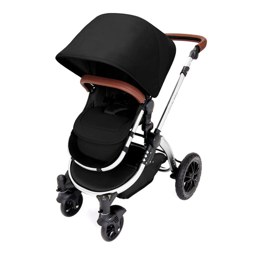 Ickle Bubba Stomp V4 Special Edition 2-in-1 - Midnight/Chrome - Pushchair Expert