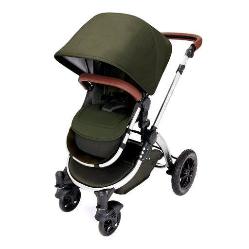Ickle Bubba Stomp V4 Special Edition 2-in-1 - Woodland/Chrome - Pushchair Expert