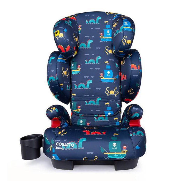 Cosatto Sumo Group 2/3 high-back booster - Sea Monsters - Pushchair Expert