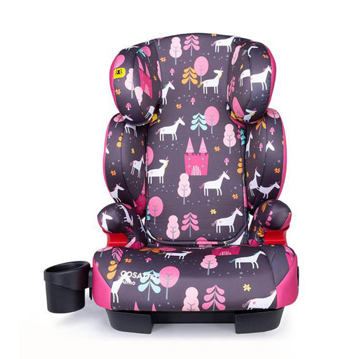 Cosatto Sumo Group 2/3 high-back booster - Unicorn Land - Pushchair Expert