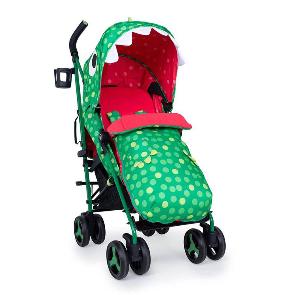 Cosatto Supa 3 stroller - Dino Mighty - Pushchair Expert